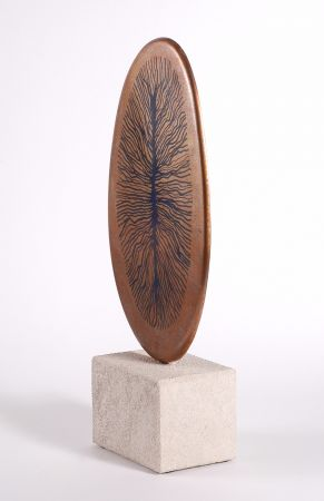 Probability - contemporary bronze sculpture